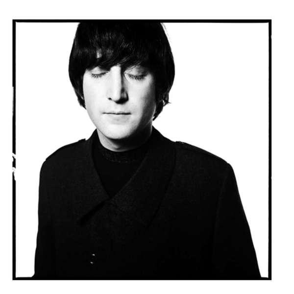 David Bailey - John Lennon, Eyes Closed, 1965.