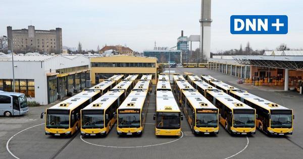 DVB schaffen 73 neue Busse für Dresden an