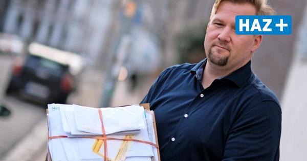 Briefe liegen auf der Straße – Post kümmert sich nicht