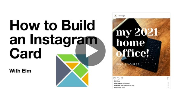 How to Build an Instagram Card with Elm