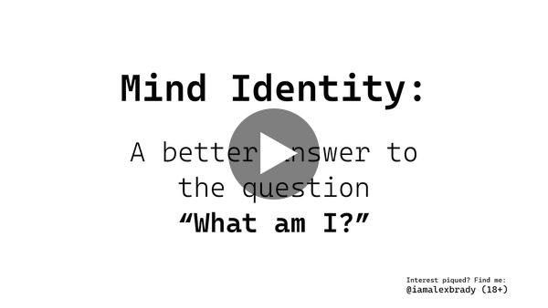 Introduction | Mind Identity | alex brady