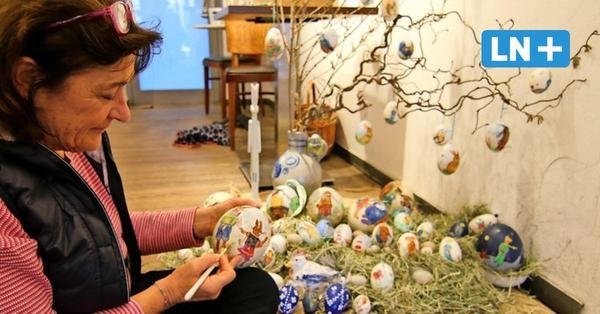Eutin: Verkauf von Ostereiern für einen guten Zweck