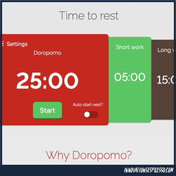 Ein Doropomo fokussiert das relaxte Arbeiten
