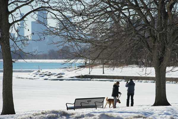 The Chicago Park District announced plans Tuesday to reopen the city's lakefront as well as parks, playgrounds and indoor swimming pools. | Ashlee Rezin Garcia/Sun-Times