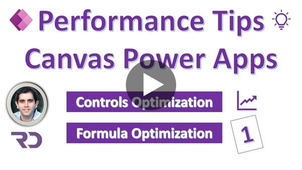 Power Apps Performance Optimization Tips