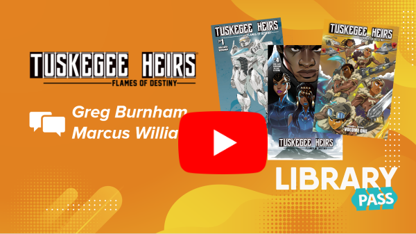 Comics Plus Publisher Spotlight: Tuskegee Heirs' Greg Burnham & Marcus Williams
