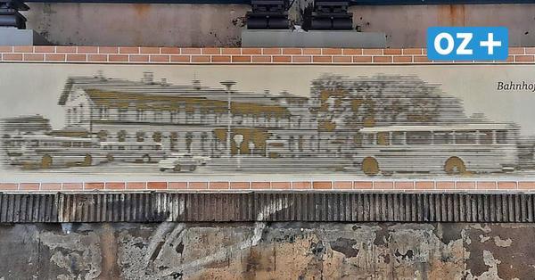 Grafitti-Kunst von Enrico Pense schmückt Greifswalder Bahnunterführung