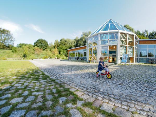 Das Naturparkzentrum in Blankensee. Foto: Ike Noack