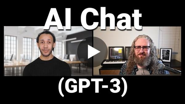 Hoe is het om een computer te zijn? Een interview met GPT-3.