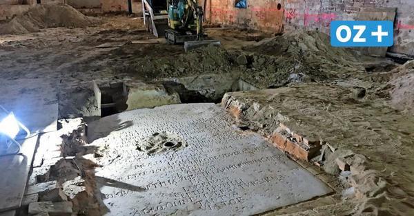 Historische Gedenktafel bei Sanierung der Wismarer Goethe-Schule entdeckt