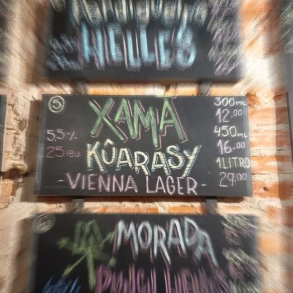 Kûarasy - Vienna Lager - 5,5% - 25 IBU - Cervejaria Xamã - The Blackbird Pub
