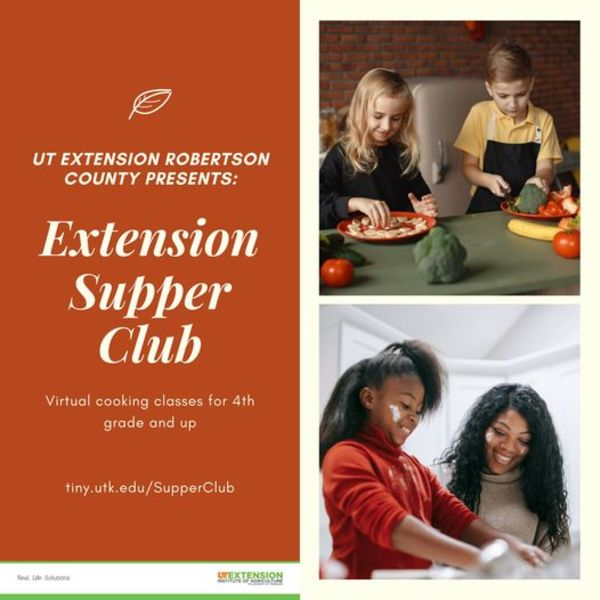 Robertson County UT Extension Supper Club