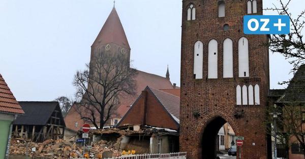 Grimmen: Zwei geschichtsträchtige Gebäude verschwinden aus dem Stadtbild