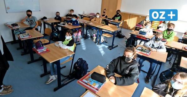 """""""Das schönste Geschenk"""": Ribnitzer Schüler kehren zurück in den Unterrichtsraum"""
