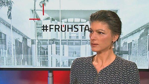 """Wagenknecht im """"ntv Frühstart"""": """"Sehr Reiche sollten Krisenkosten tragen"""" - n-tv.de"""