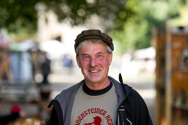 """Ralf Kirsten aka """"Ralf der Rabe"""" (Foto: Stefan Specht)"""