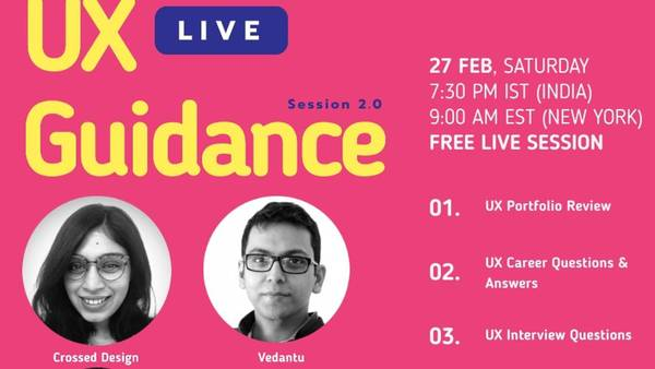 UX-Guidance: Live panel discussion