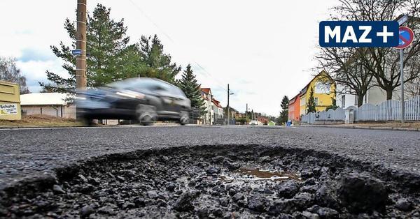 Viele Schlaglöcher im Havelland: Straßenmeistereien müssen Winterschäden beseitigen