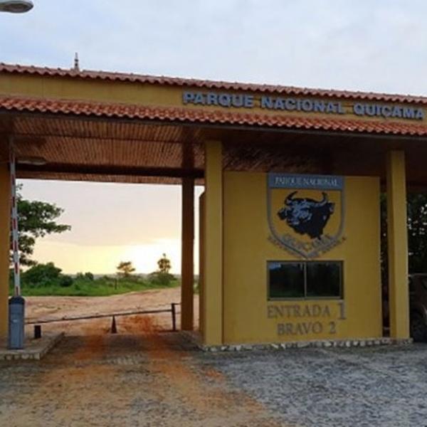 Entrance to Quiçama national park