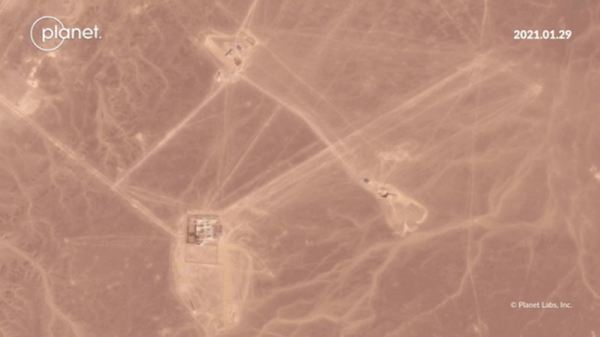 Recent construction at Jiuquan in recent months. Credit: Planet Labs Inc.