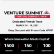 Venture Summit Virtual Connect West - 16th-18th March