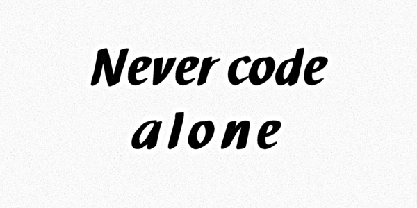 Pair Programming[NVSBL]