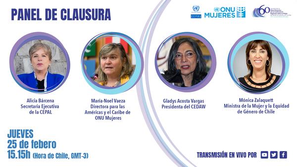 Event recap, SDG5: ministras de la mujer se comprometen a impulsar una sociedad del cuidado y la plena inclusión digital de las mujeres para una recuperación transformadora y con igualdad de género
