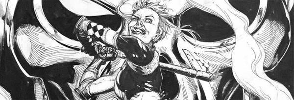 Gary Frank - Harley Quinn Original Cover Art