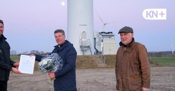 Windpark Neuengörs weltweit erster mit Nachtabschaltung der Befeuerung