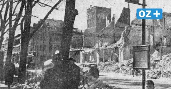"""Rostock 1942: """"Wir haben bei Bombenangriffen viele Stunden im Keller Schutz gesucht"""""""