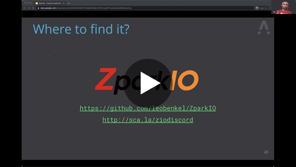 Accelerating Spark with ZIO by Leo Benkel
