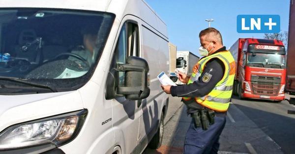 Wie die Bundespolizei Reise-Regeln in Puttgarden überprüft