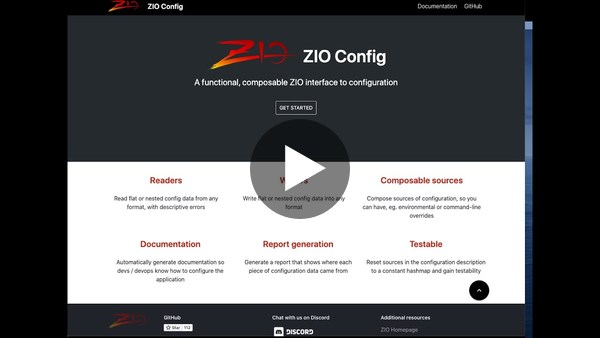 Part2: Maximise the use of Scala types  (Option & Either in zio-config)