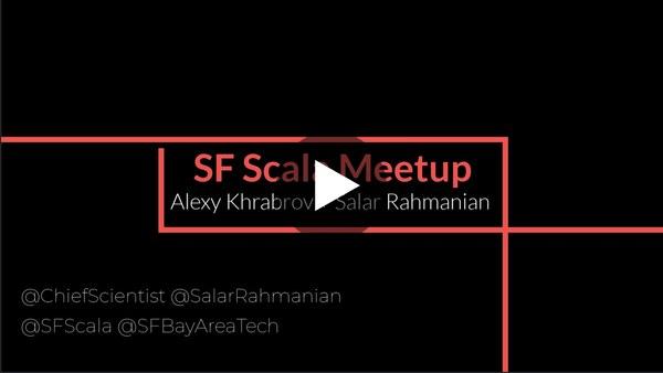 SF Scala: Kiar - Key/Value store with MVCC based Transaction System By Sandeep Virdi