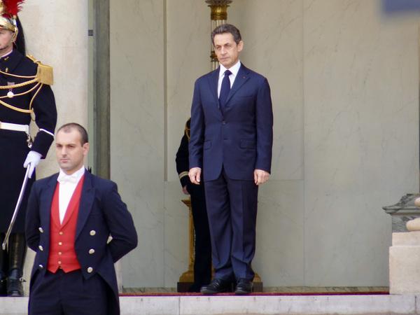 Nicolas Sarkozy in better times