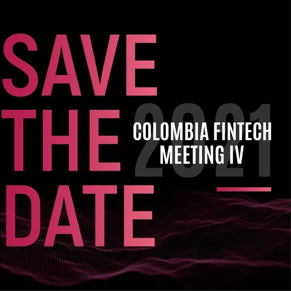 """""""Hoy #MartesDeTrivia🔥Anunciamos el #SaveTheDate de nuestro #ColombiaFintechMeetingIV 🚀¿Pueden adivinar? El número del mes es la mitad del octavo mes 😏 y el día, son dos números que al sumarlos dan el mismo mes del evento 👀"""