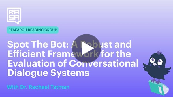 Spot The Bot: A Robust & Efficient Framework for Evaluation of Conversational AI