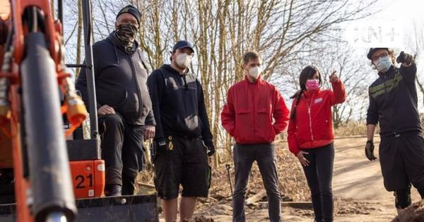 Rendsburg: Jugendliche in Rendsburg bauen ihre eigene BMX-Bahn