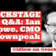 Backstage with Ian Lowe - Rockstar CMO