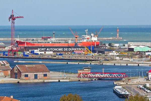 L'US Army débarque à Dunkerque - Amerikaanse leger test haven Duinkerke