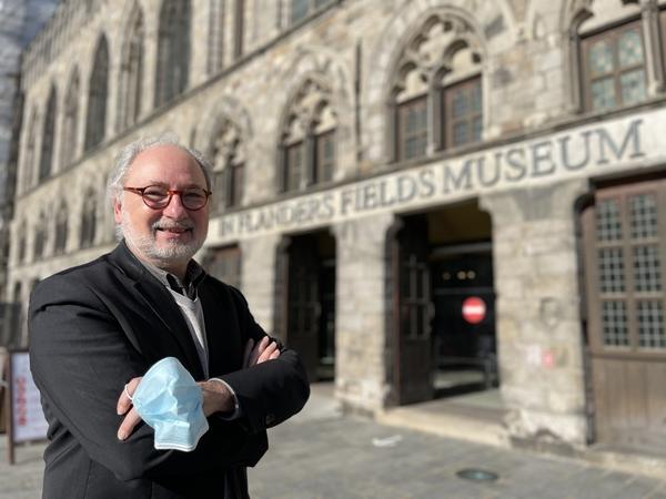 Piet Chielens, coordinateur du musée In Flanders Fields part à la retraite. - Piet Chielens stopt als coördinator van het In Flanders Fields Museum