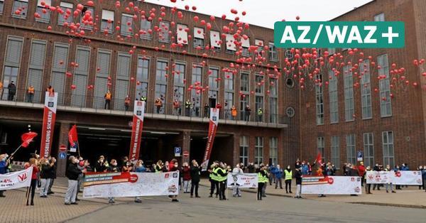 VW-Tarifverhandlungen: Auf Luftballons folgen Warnstreiks