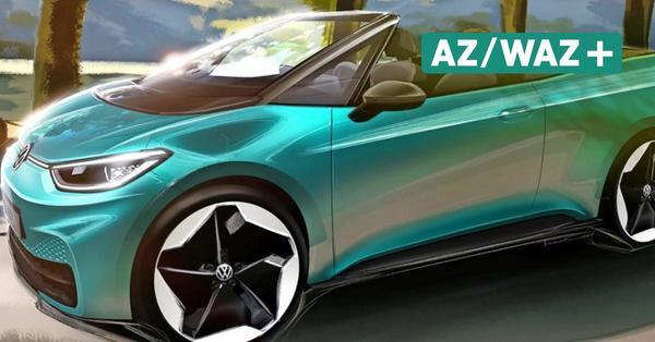 """Kommt der ID.3 bald """"oben ohne""""? VW diskutiert über Cabrio-Version"""