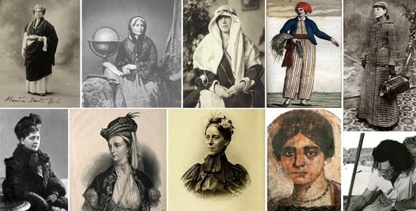 Mujeres viajeras de la historia