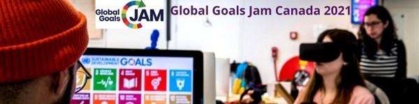 March 19-21 ◦ Global Goals Jam Canada 2021
