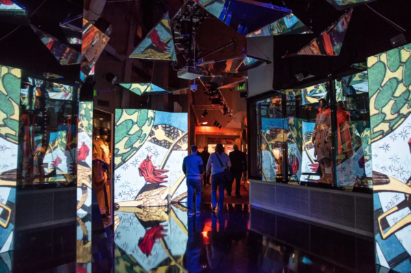"""The Museum of Science and Industry exhibit """"Marvel: Universe of Superheroes"""" features various galleries. 