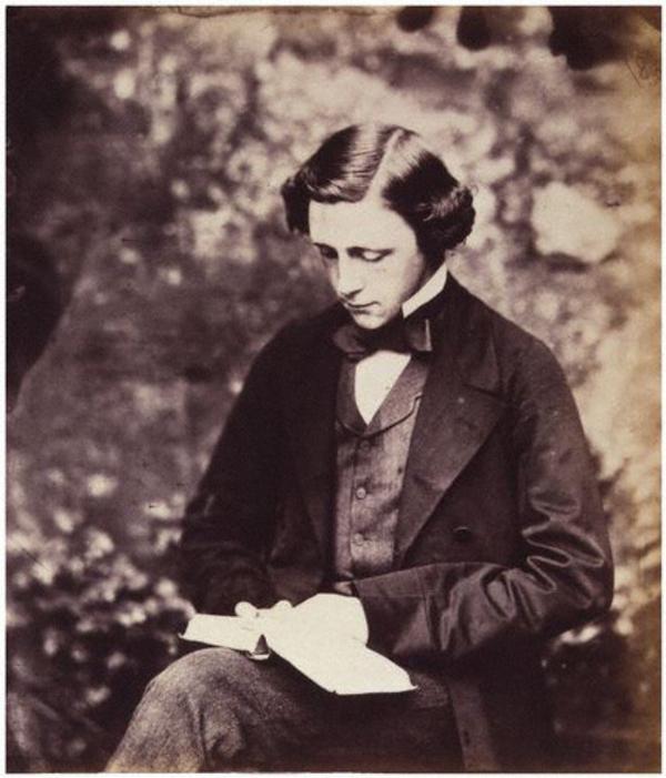 Lewis Carroll, self portrait, c. 1856