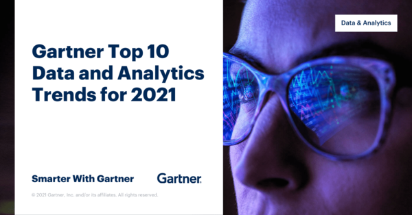 Gartner Top 10 Data and Analytics Trends for 2021