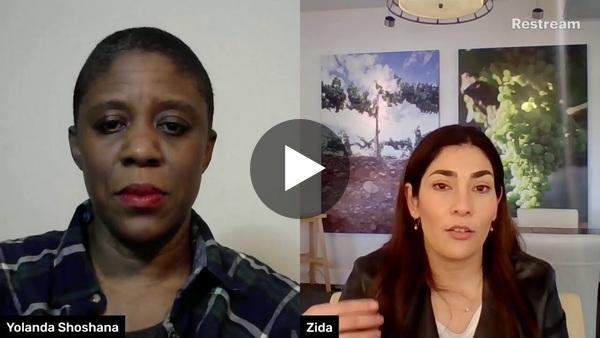 The Yolanda Shoshana Livestream- Zidanelia Arcidiacono from Sonoma-Cutrer