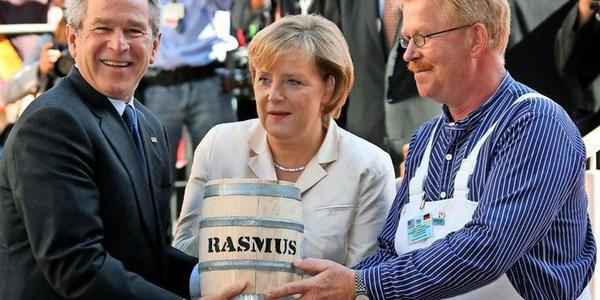 Stralsund: Henry Rasmus, der Retter des Bismarck-Herings, in Ruhestand